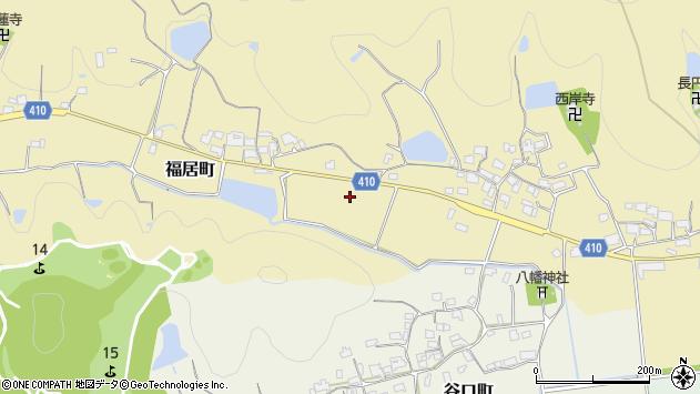〒675-2351 兵庫県加西市福居町の地図