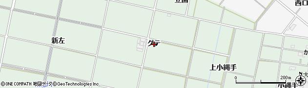 愛知県安城市桜井町(グテ)周辺の地図