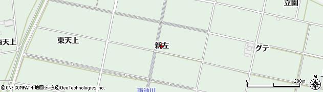 愛知県安城市桜井町(新左)周辺の地図