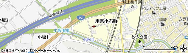 静岡県静岡市駿河区用宗小石町周辺の地図