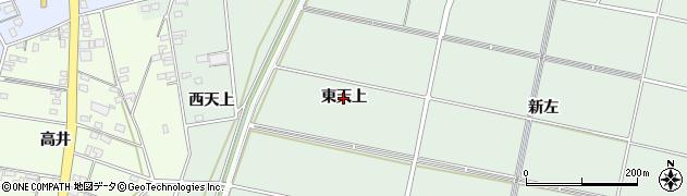 愛知県安城市桜井町(東天上)周辺の地図