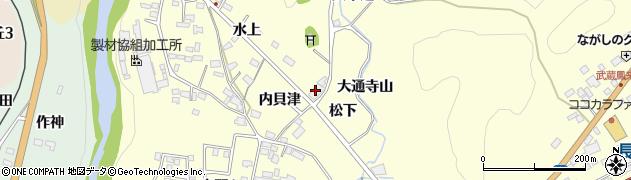 本陣周辺の地図
