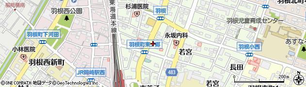 粋楽周辺の地図