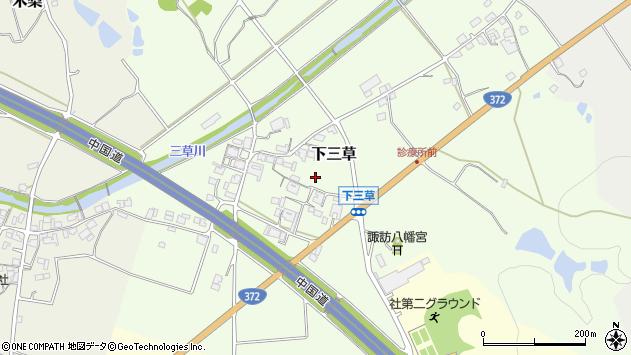 〒673-1473 兵庫県加東市下三草の地図