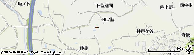 愛知県知多郡阿久比町阿久比田ノ脇周辺の地図