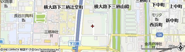 京都府京都市伏見区横大路三栖池田屋敷町周辺の地図