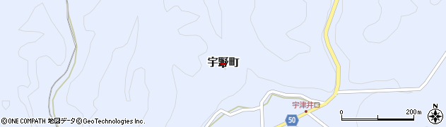 島根県浜田市宇野町周辺の地図