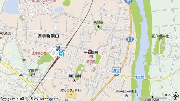 〒679-2161 兵庫県姫路市香寺町溝口の地図