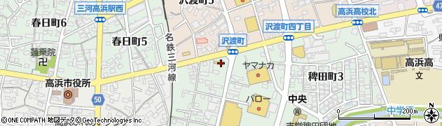きくのや周辺の地図