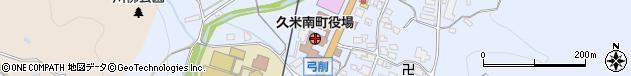 岡山県久米郡久米南町周辺の地図