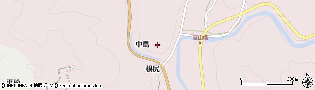 愛知県岡崎市夏山町(中島)周辺の地図