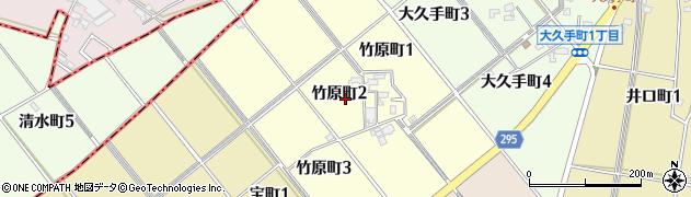愛知県碧南市竹原町周辺の地図