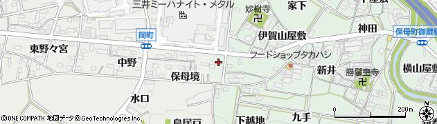 よつちゃん周辺の地図
