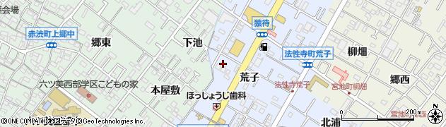 ジャージャ周辺の地図
