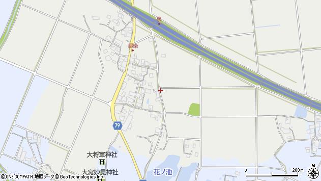 〒679-0101 兵庫県加西市都染町の地図