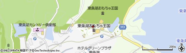 東条湖おもちゃ王国周辺の地図