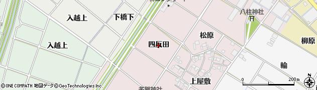 愛知県安城市川島町(四反田)周辺の地図