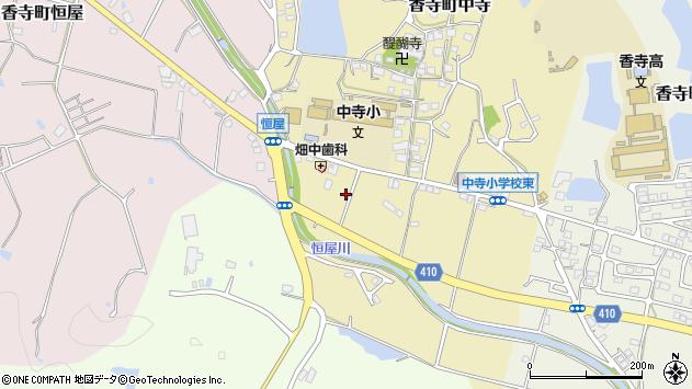 〒679-2164 兵庫県姫路市香寺町中寺の地図