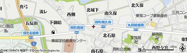 愛知県岡崎市岡町(南城下)周辺の地図