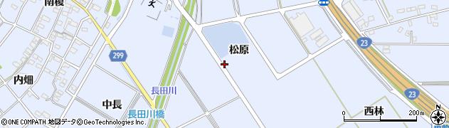 愛知県安城市榎前町周辺の地図