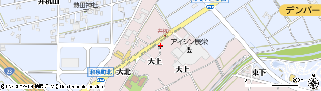 どんぐり和泉店周辺の地図