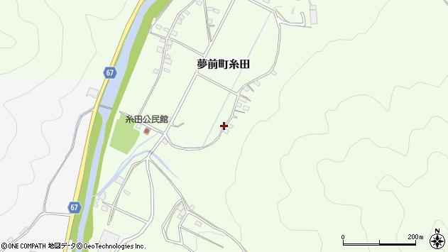 〒671-2114 兵庫県姫路市夢前町糸田の地図