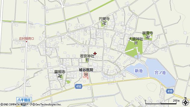 〒679-2202 兵庫県神崎郡福崎町八千種の地図