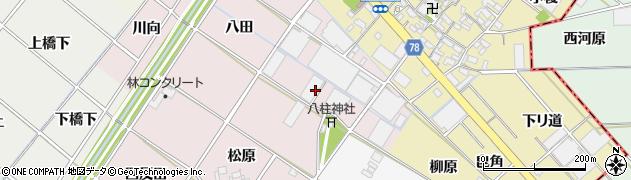 愛知県安城市川島町(藤野)周辺の地図