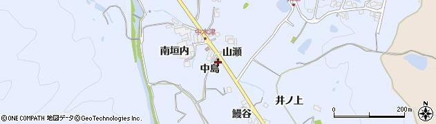 六瀬郵便局周辺の地図