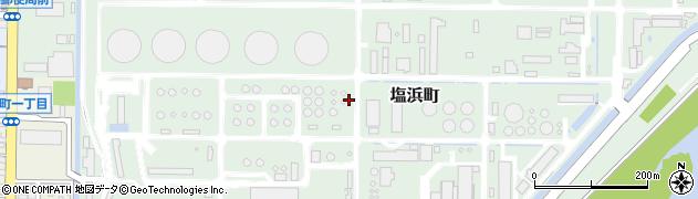 三重県四日市市塩浜町周辺の地図