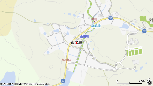 〒669-1414 兵庫県三田市市之瀬の地図