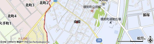 愛知県安城市榎前町(南榎)周辺の地図