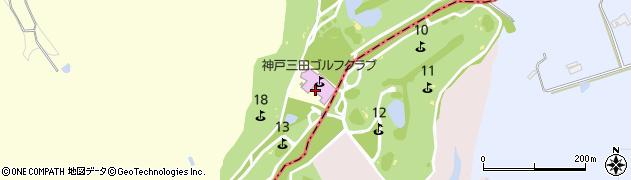 神戸三田ゴルフクラブ周辺の地図