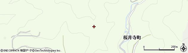愛知県岡崎市桜井寺町(焼山)周辺の地図