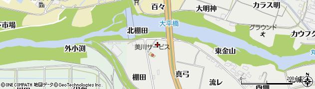 愛知県岡崎市岡町(西金山)周辺の地図