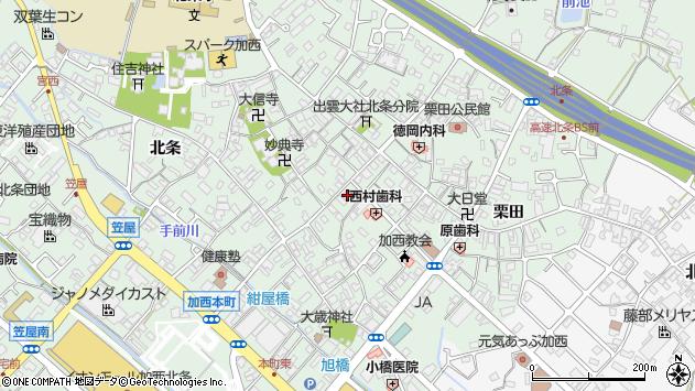 〒675-2312 兵庫県加西市北条町北条の地図
