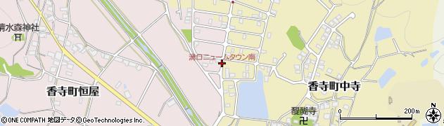 溝口ニュームタウン南周辺の地図