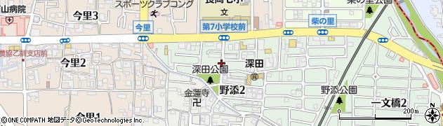 野添市営住宅周辺の地図