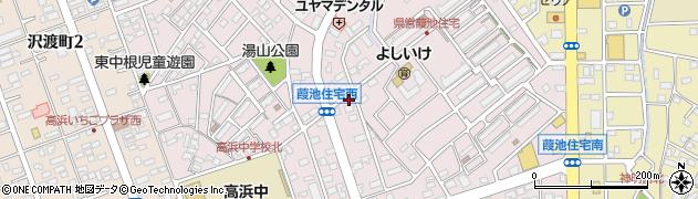 大衆割烹江戸みこし周辺の地図