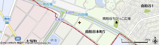 愛知県知多市南粕谷本町周辺の地図