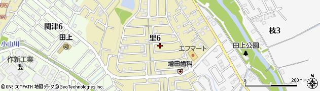 滋賀県大津市里周辺の地図