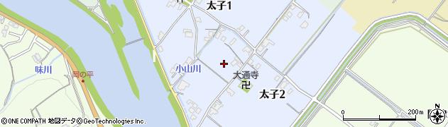 滋賀県大津市太子周辺の地図