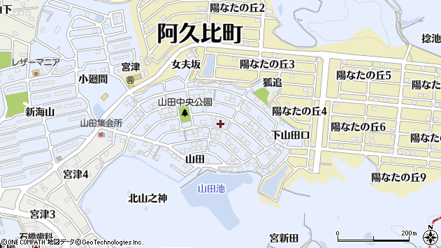 愛知県知多郡阿久比町宮津 郵便...