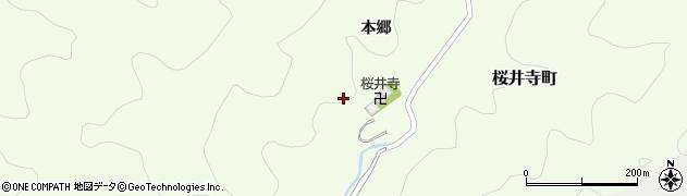 愛知県岡崎市桜井寺町(本郷)周辺の地図