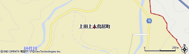 滋賀県大津市上田上大鳥居町周辺の地図