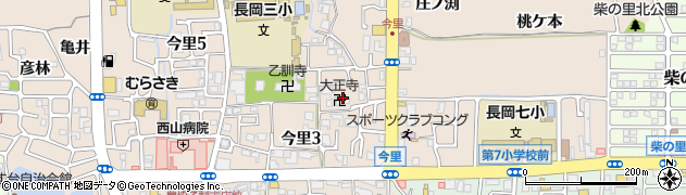 大正寺周辺の地図