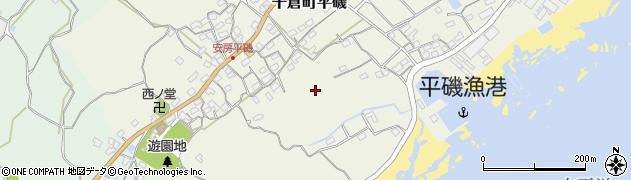 千葉県南房総市千倉町平磯周辺の地図