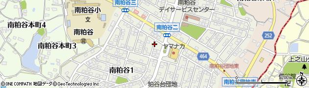 愛知県知多市南粕谷周辺の地図
