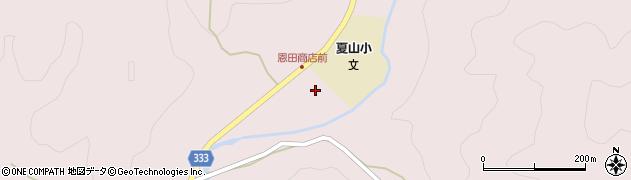 愛知県岡崎市夏山町(蔵前)周辺の地図