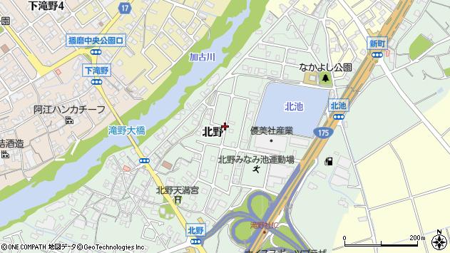 〒679-0205 兵庫県加東市北野の地図